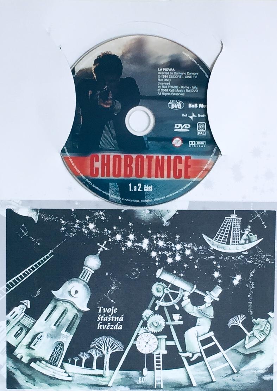 Chobotnice - 1. a 2. část - DVD /dárkový obal/
