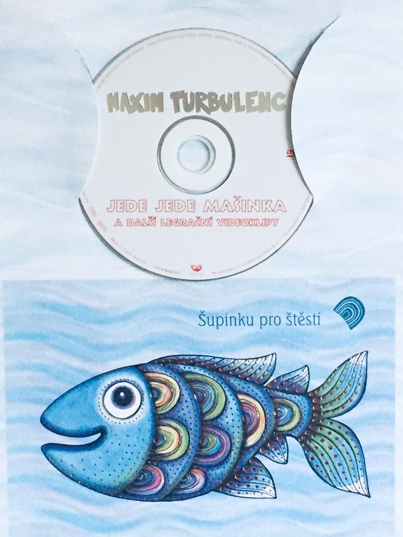 Maxim Turbulenc - Jede jede mašinka a další legrační videoklipy - DVD /dárkový obal/