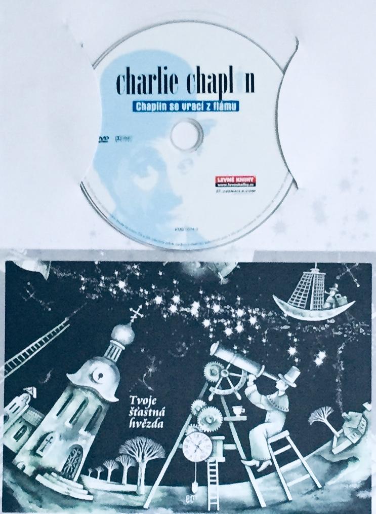 Charlie Chaplin - Chaplin se vrací z flámu - DVD /dárkový obal/
