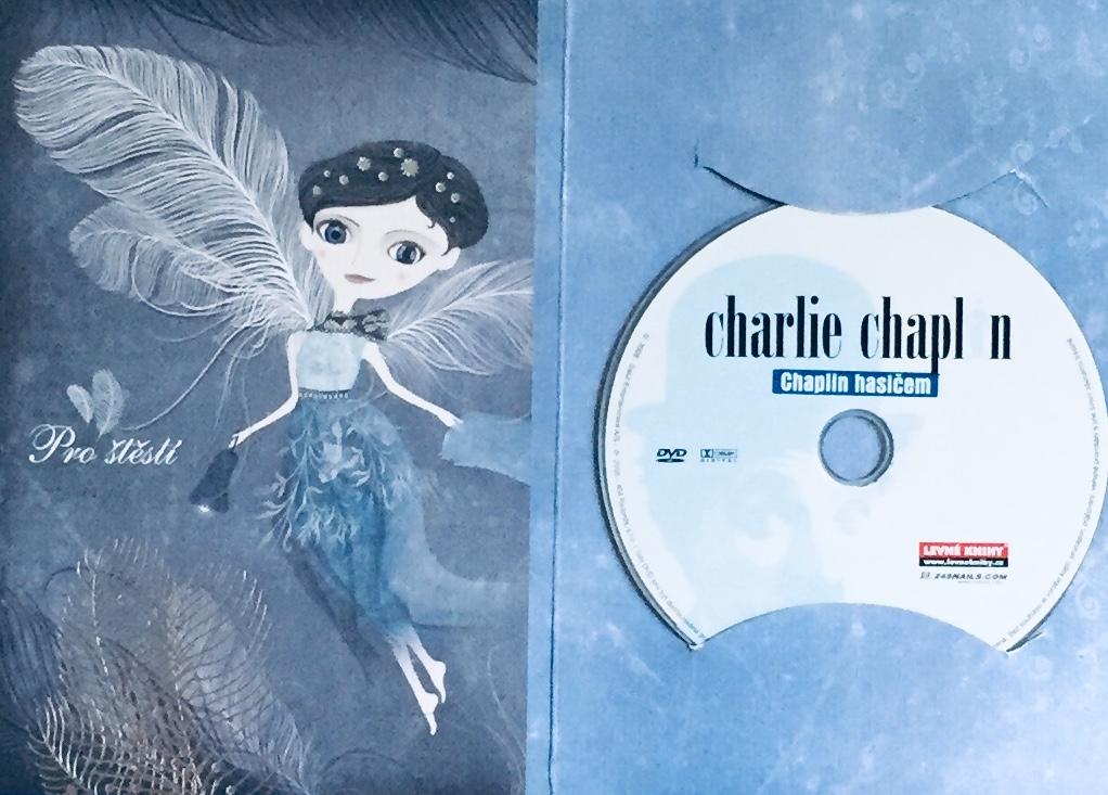 Charlie Chaplin - Chaplin hasičem - DVD /dárkový obal/