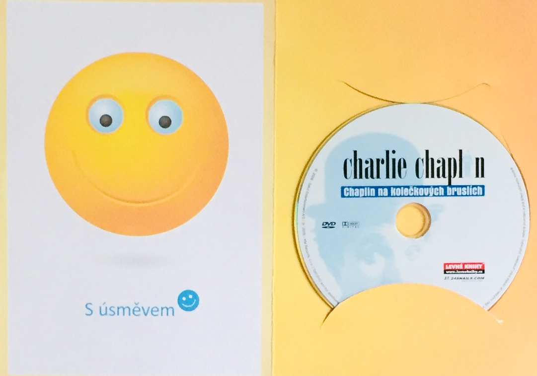 Charlie Chaplin - Chaplin na kolečkových bruslích - DVD /dárkový obal/