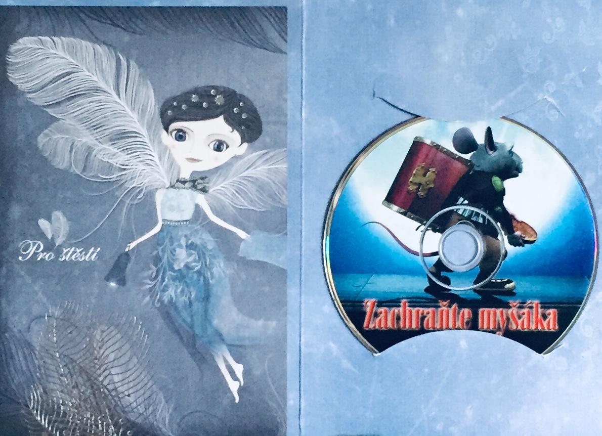 Zachraňte myšáka - DVD /dárkový obal/