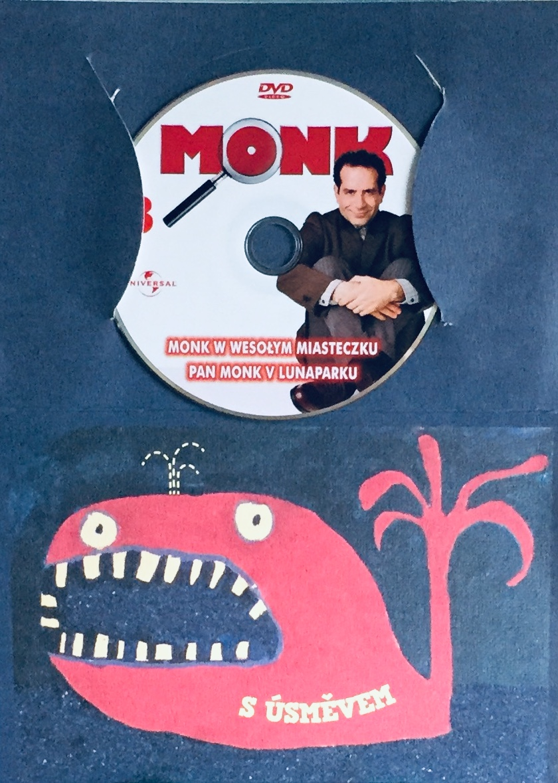 Můj přítel Monk 3 - Pan Monk v Lunaparku - DVD /dárkový obal/