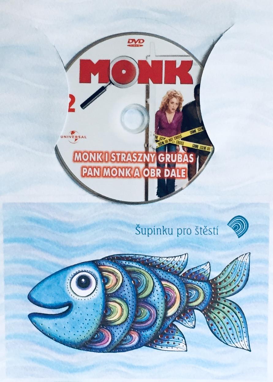 Můj přítel Monk 2 - Pan Monk a obr Dale - DVD /dárkový obal/