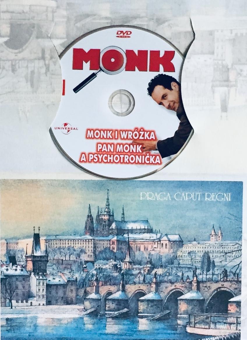 Můj přítel Monk 1 - Pan Monk a psychotronička - DVD /dárkový obal/