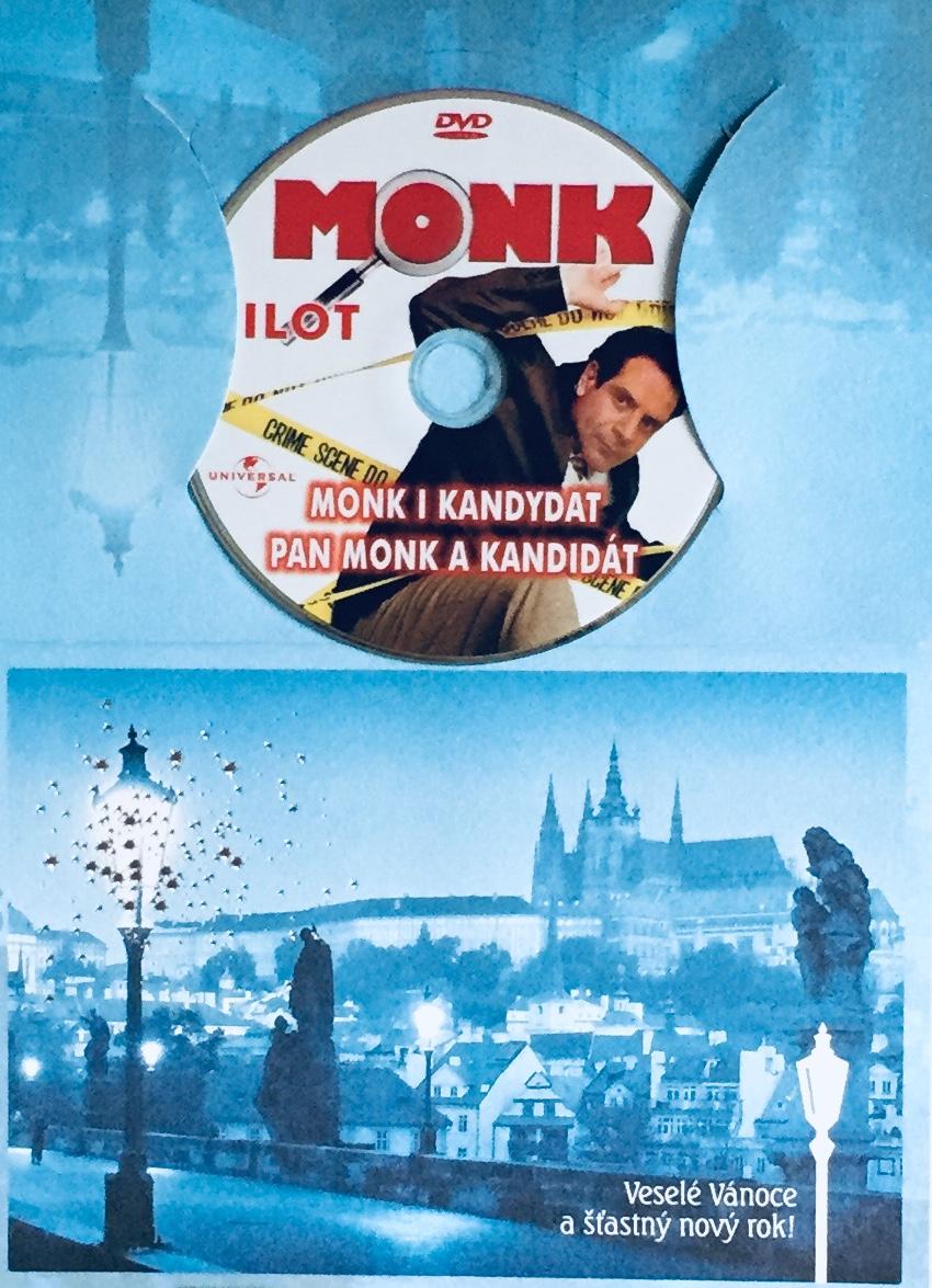 Můj přítel Monk  - Pan Monk a kandidát - DVD /dárkový obal/