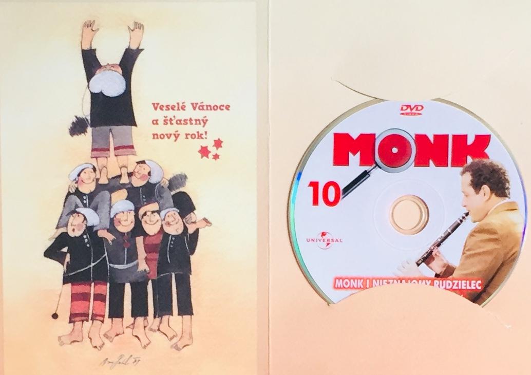Můj přítel Monk 10 - Pan Monk a rusovlasý cizinec - DVD /dárkový obal/