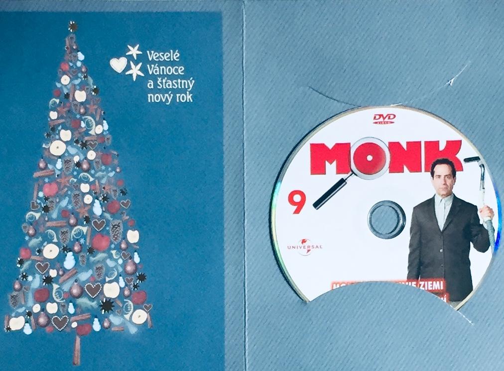Můj přítel Monk 9 - Pan Monk a zemětřesení - DVD /dárkový obal/