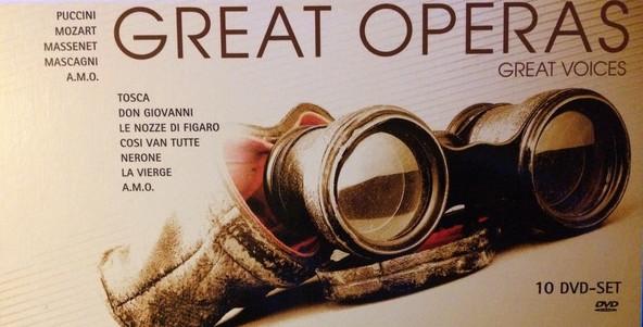 Great Operas - 10 DVD Set - 10xDVD /karton box/