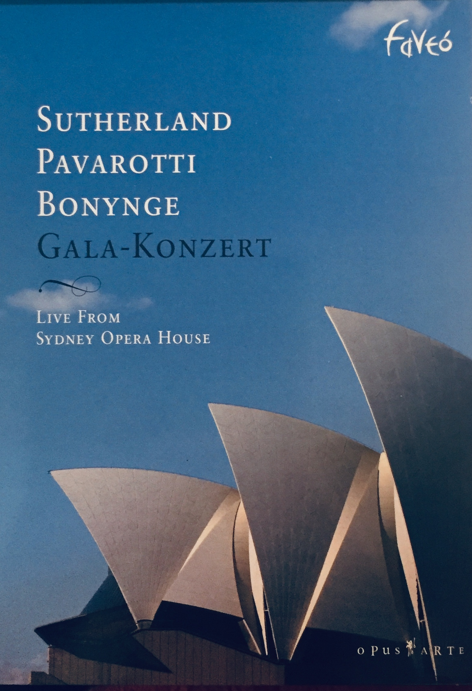 Sutherland Pavarotti Bonynge - Gala-Konzert - DVD /plast v šubru/