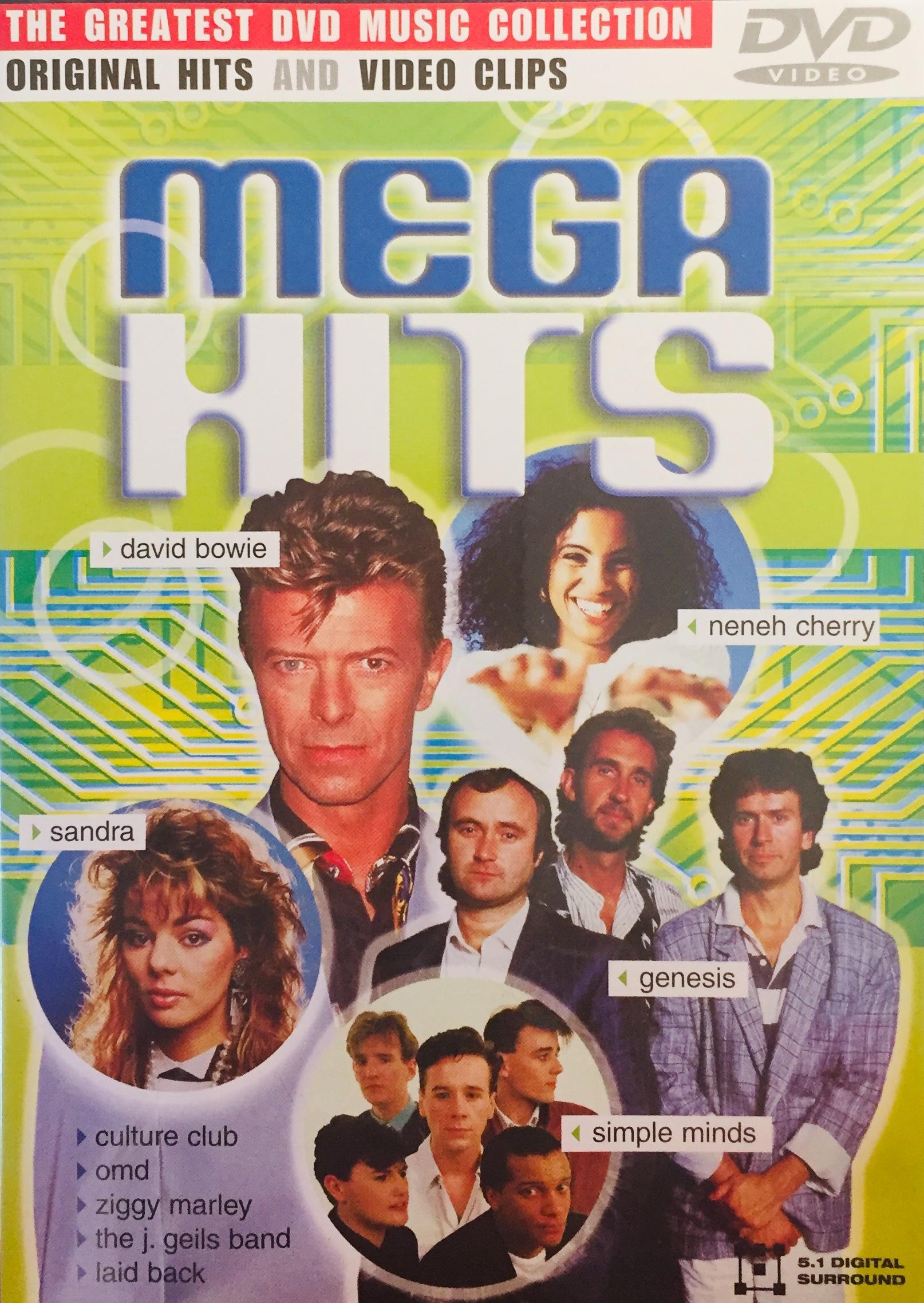 Mega Hits - DVD /plast/