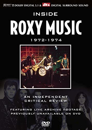 Roxy Music - 1972-1974 - An Indipendent Critical Review - DVD /plast/