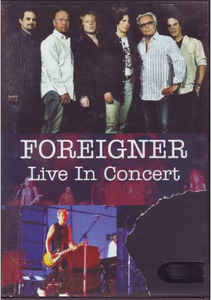 Foreigner - Live in Concert - DVD /plast/