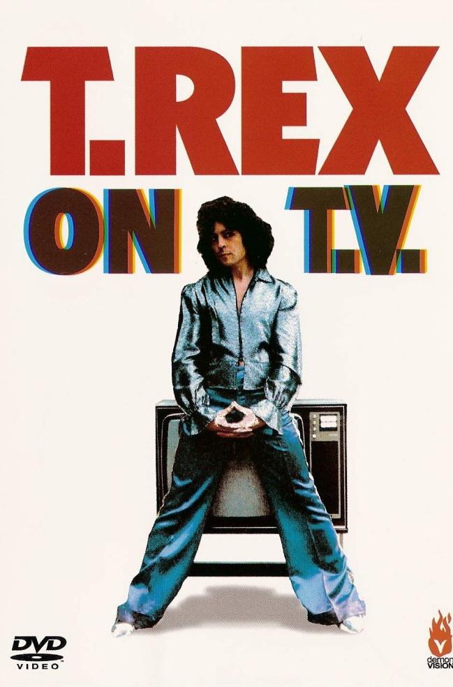 T.Rex - On T.V. - DVD /plast/