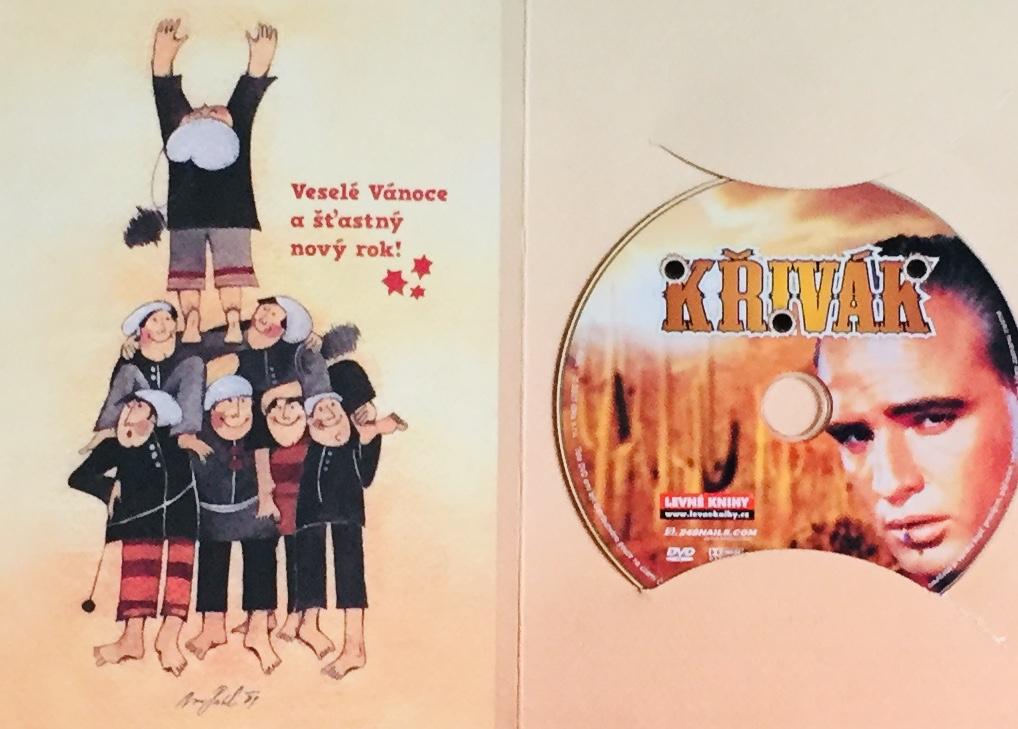 Křívák - DVD /dárkový obal/