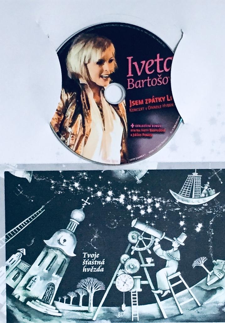 Iveta Bartošová - Jsem zpátky Live - DVD /dárkový obal/