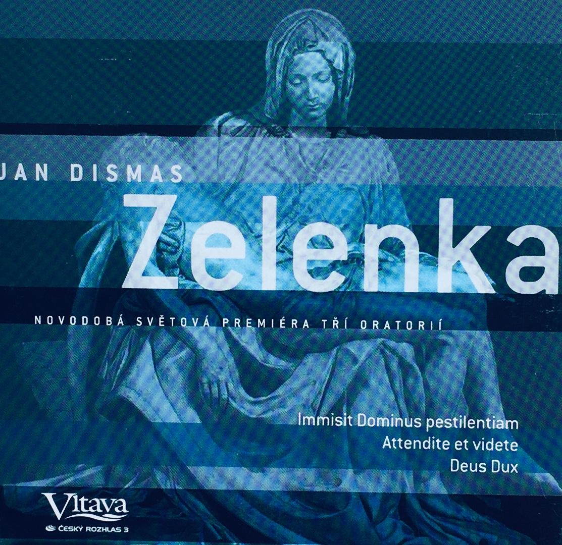 Jan Dismas Zelenka - Oratoria - CD /pošetka malá/