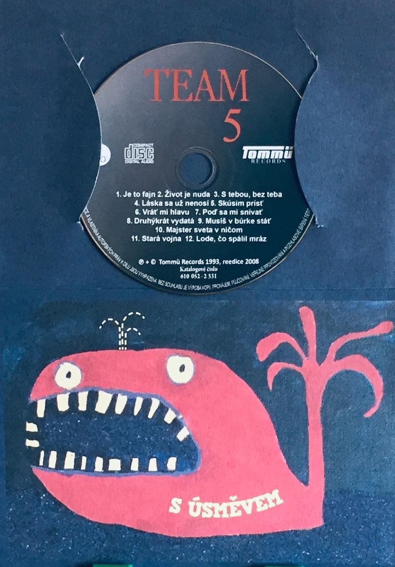 Team 5 - CD /dárkový obal/