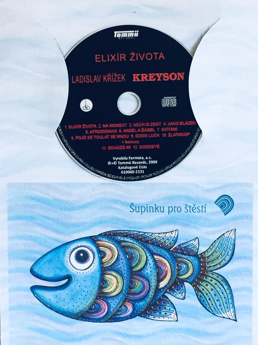 Ladislav Křížek - Kreyson - Elixír života - CD /dárkový obal/