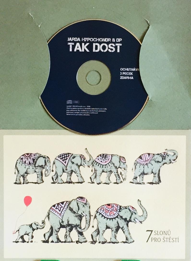 Jarda Hypochondr & DP - Tak dost - CD /dárkový obal/