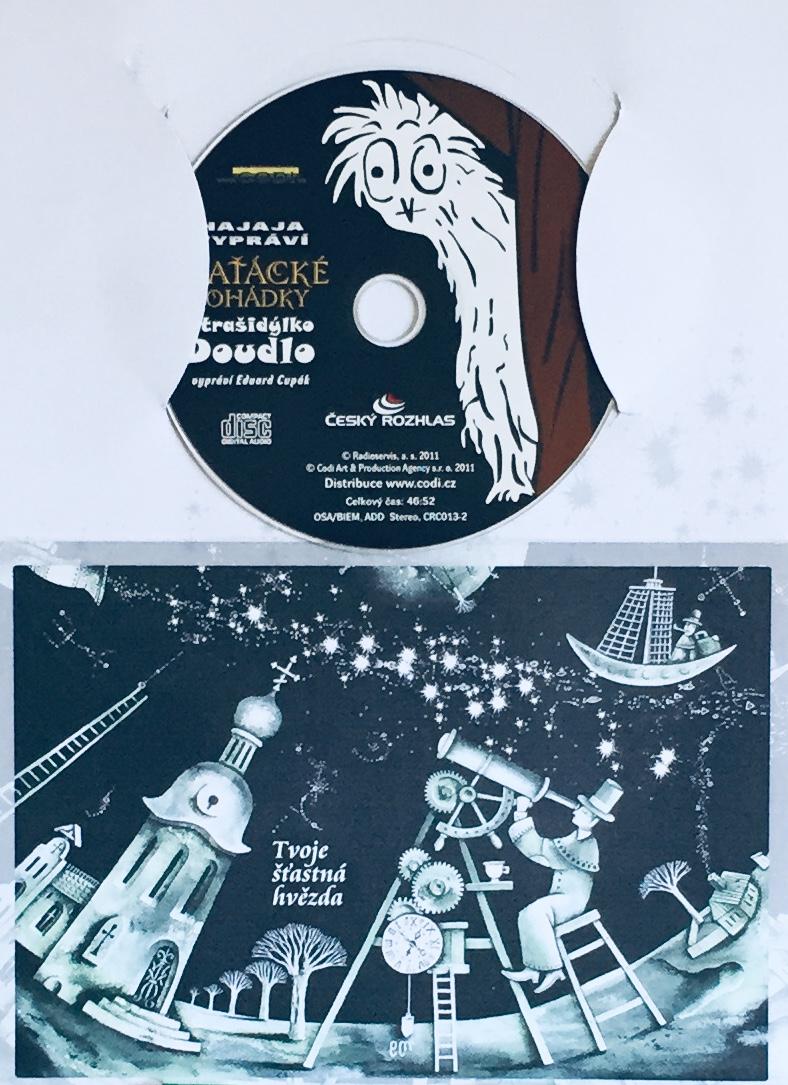Hajaja vypráví - Blaťácké pohádky - Strašidýlko Doudlo - CD /dárkový obal/