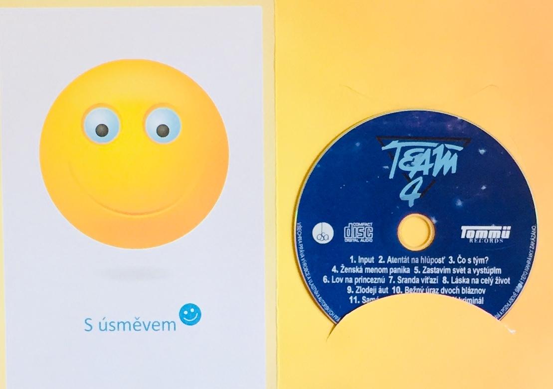Team 4 - CD /dárkový obal/