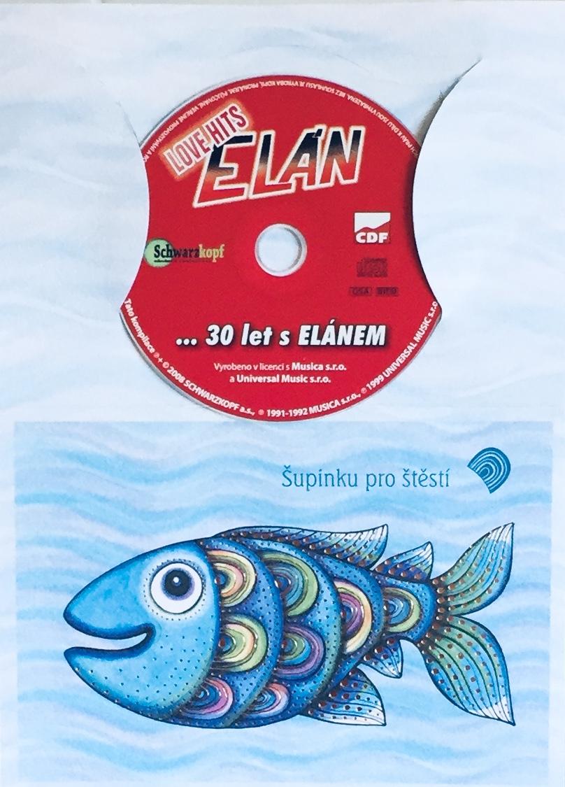 Elán - Love Hits - ...30 let s Elánem - CD /dárkový obal/