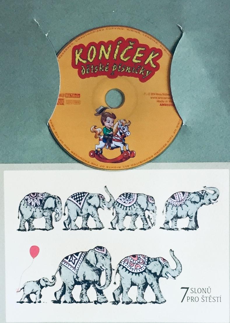Koníček - dětské písničky - CD /dárkový obal/