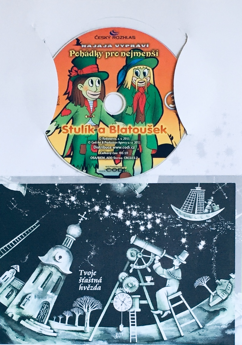 Hajaja vypráví - Pohádky pro nejmenší 3 - CD /dárkový obal/