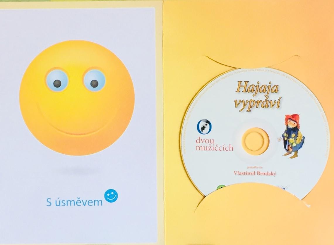 Hajaja vypráví - O dvou mužíčcích - CD /dárkový obal/