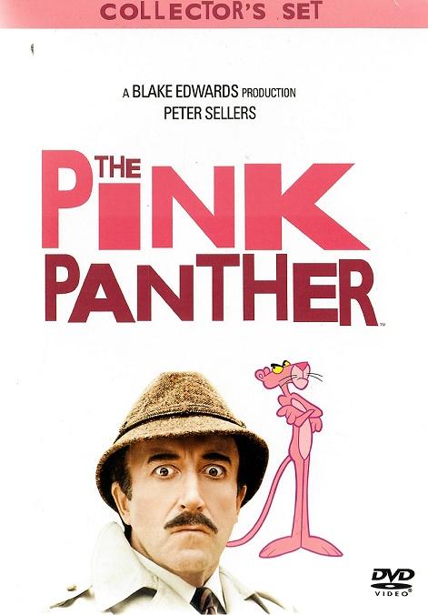 Kolekce Růžový Panter v přebalu - komplet - 7 DVD