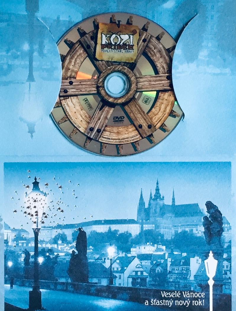 Kozí příběh - Pověsti staré Prahy - DVD /dárkový obal/