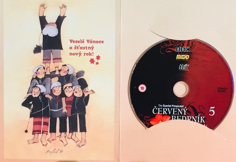 Červený Bedrník 5 - Přátelé a nepřátelé - DVD /dárkový obal/