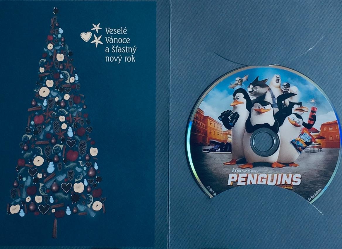 Penguins of Madagascar/ Tučňáci z Madagaskaru - DVD /dárkový obal/