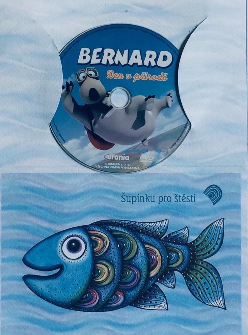 Bernard - Den v přírodě - DVD /dárkový obal/