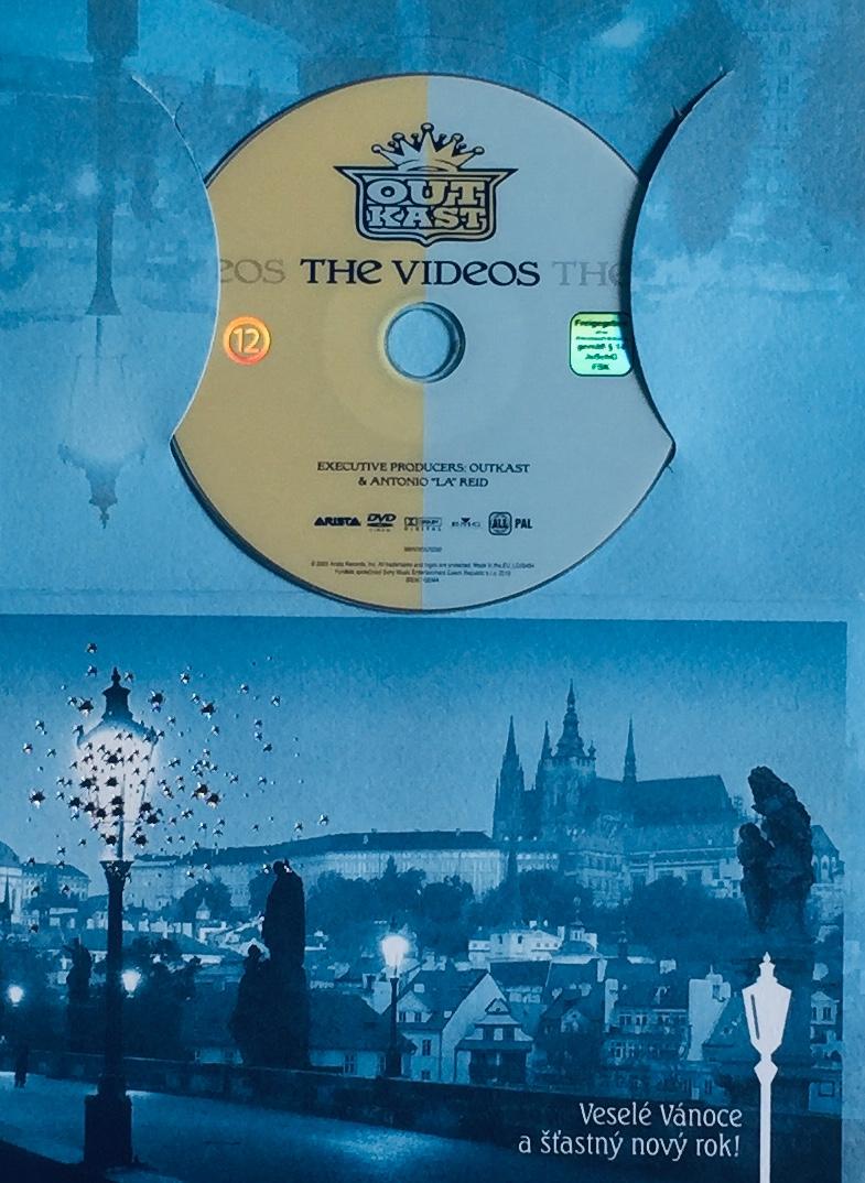 OutKast - The Videos - DVD /dárkový obal/