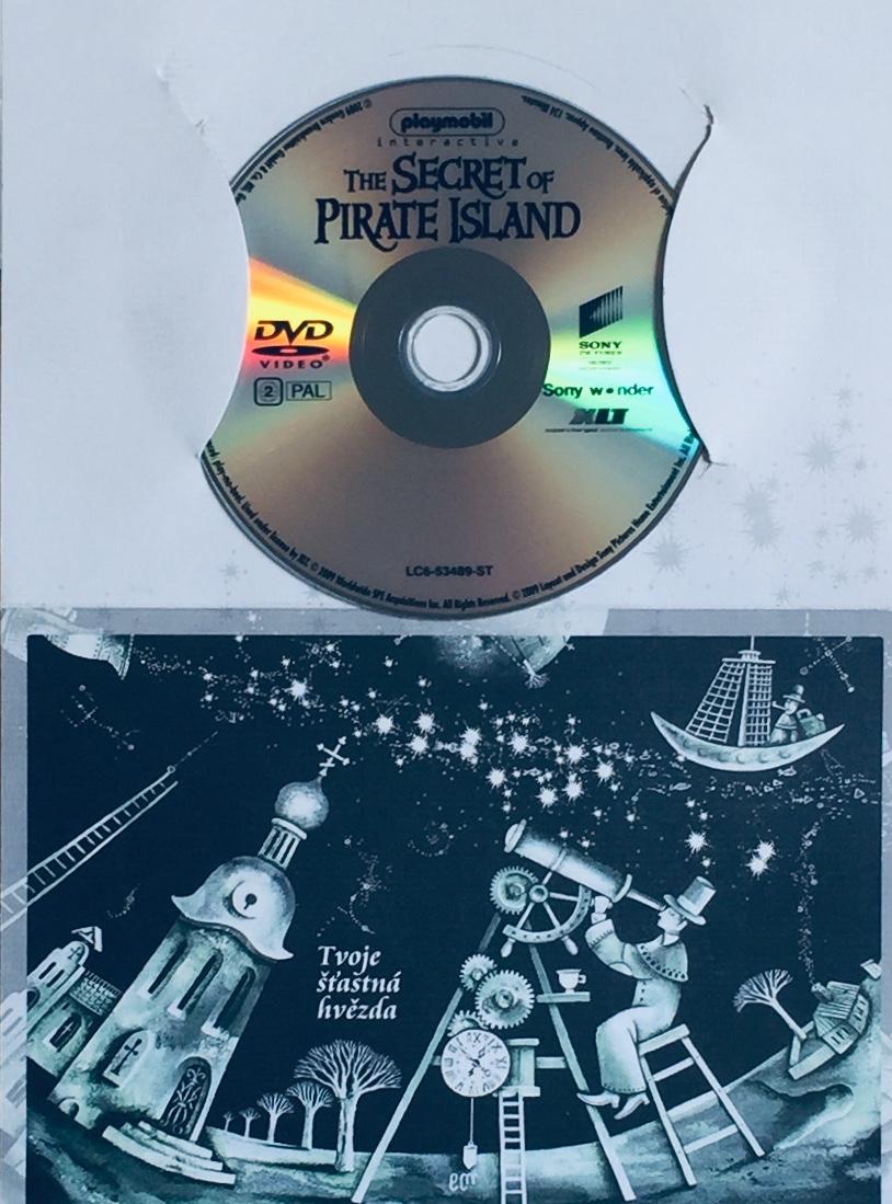 Playmobil - The Secret of the Pirate Island / Playmobil - Tajemství Ostrova lebek - DVD /dárkový obal/