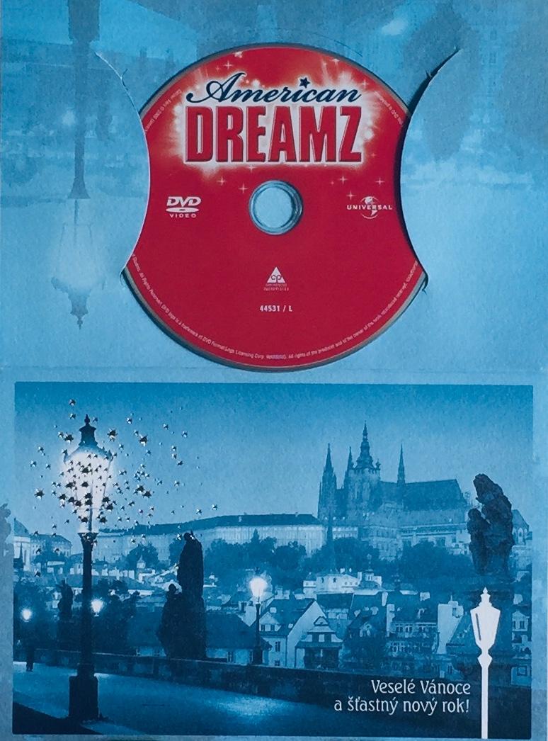 American Dreamz / Hledáme Ydol - DVD /dárkový obal/
