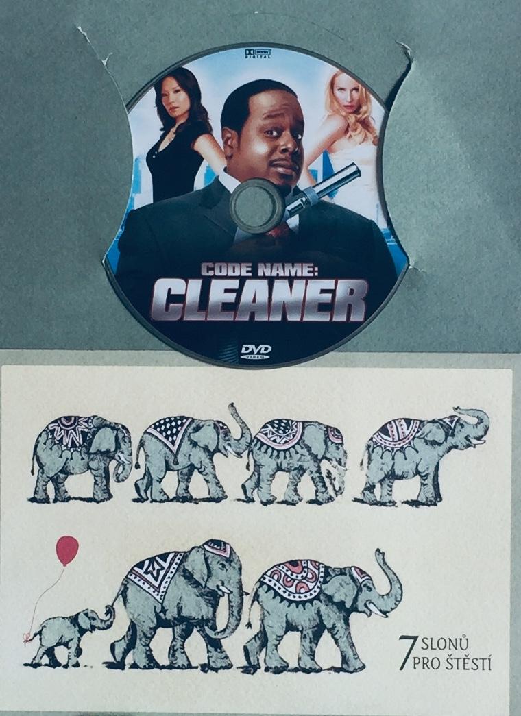 Code Name: Cleaner / Krycí jméno: Čistič - DVD /dárkový obal/