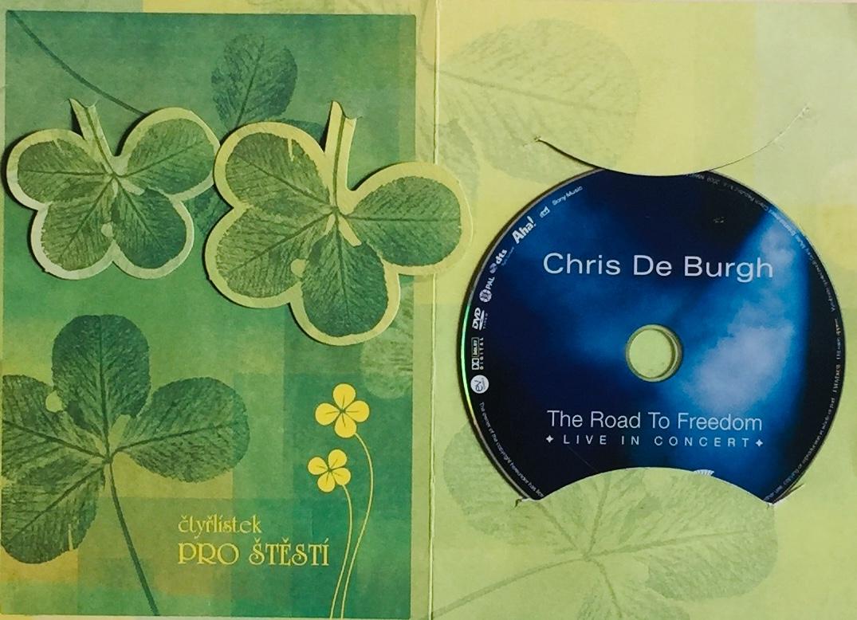 Chris de Burgh - The Road to Freedom - DVD /dárkový obal/