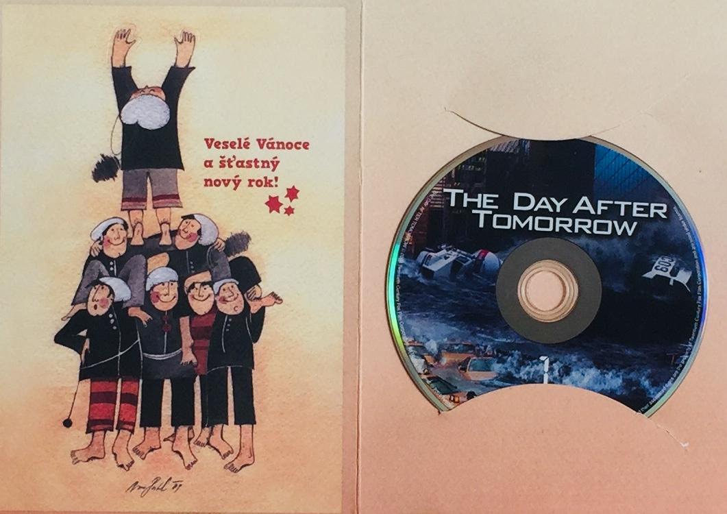 The Day After Tomorrow / Den poté - DVD /dárkový obal/