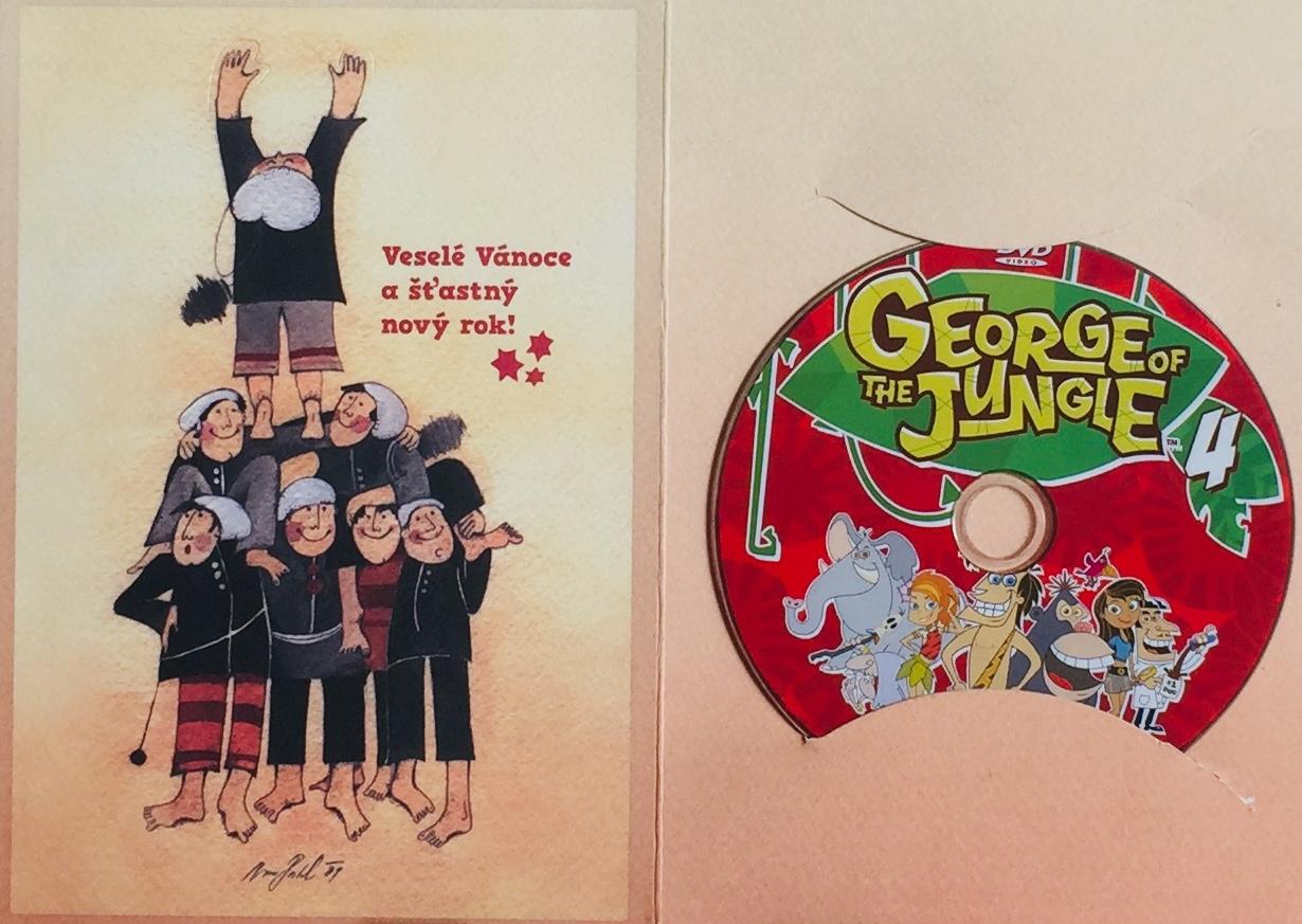 George of the Jungle 4 / Král džungle 4 - DVD /dárkový obal/