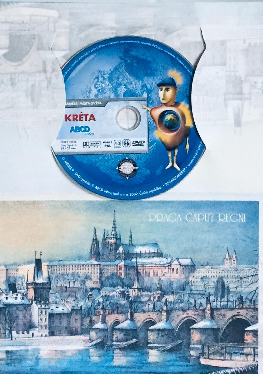 Nejkrásnější místa světa - Kréta - DVD /dárkový obal/