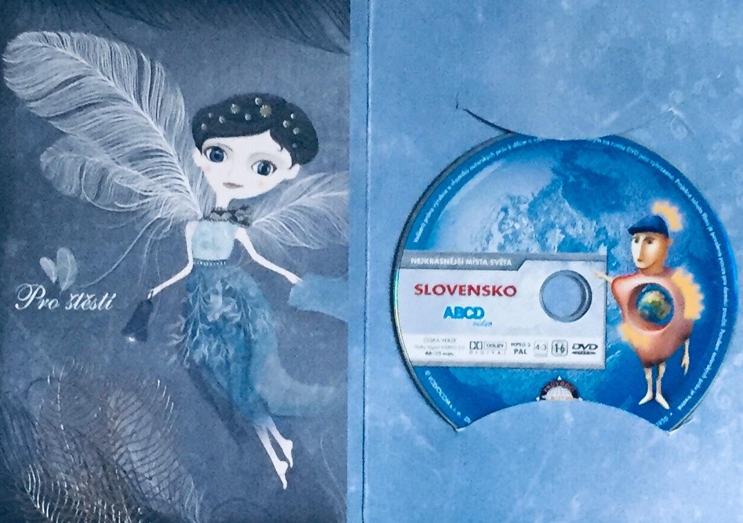 Nejkrásnější místa světa - Slovensko - DVD /dárkový obal/