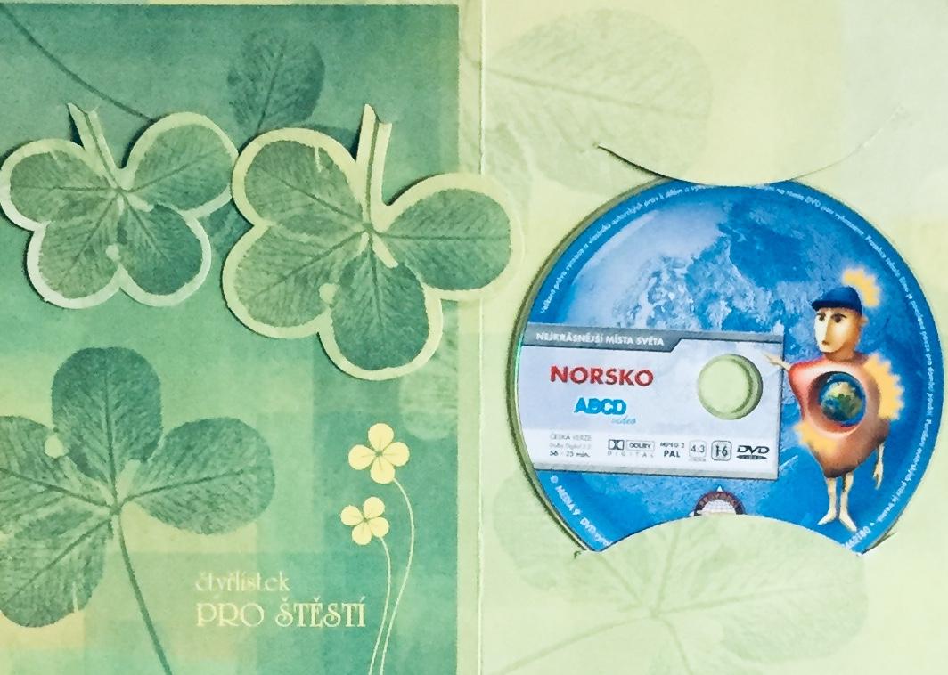 Nejkrásnější místa světa - Norsko - DVD /dárkový obal/