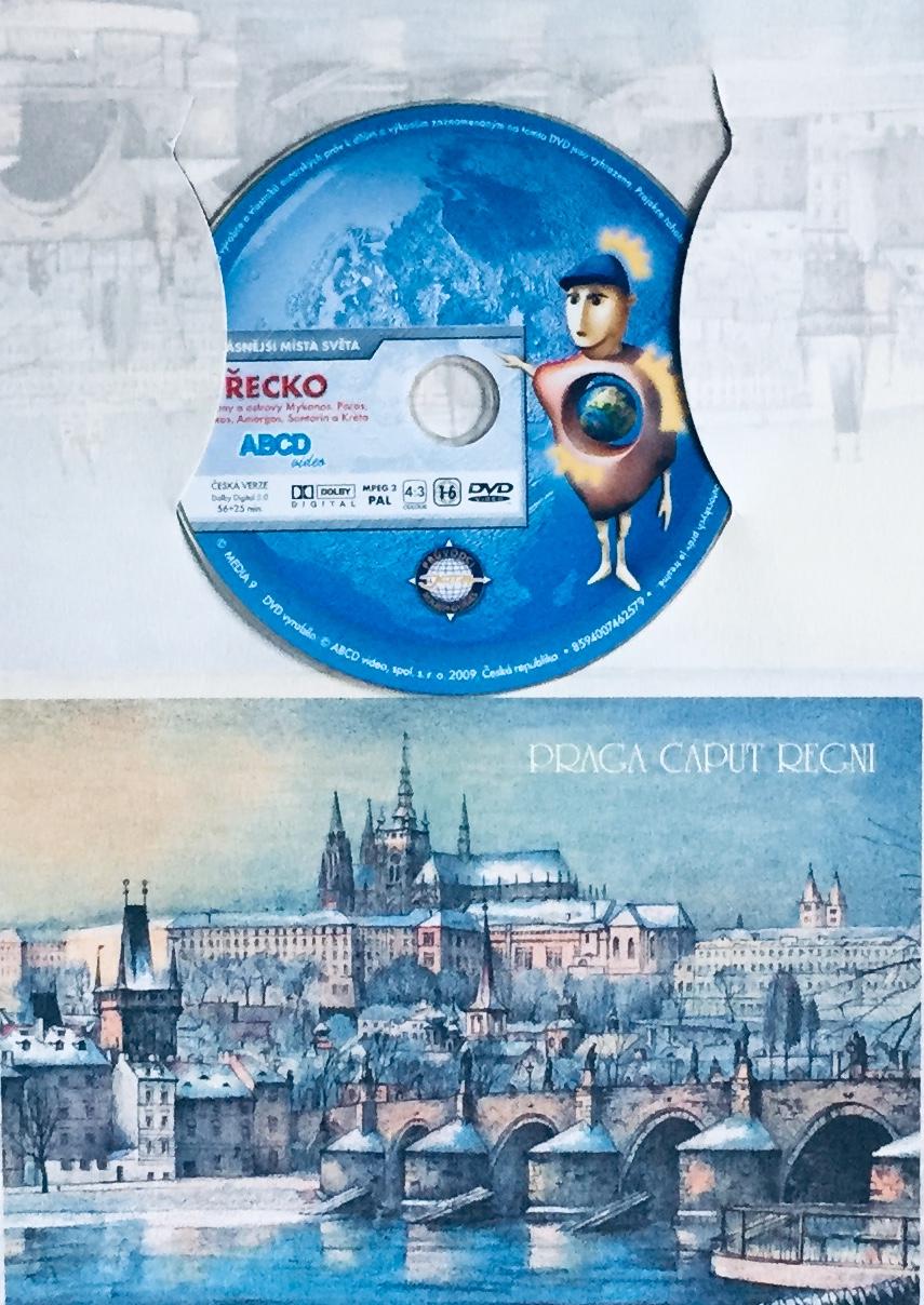Nejkrásnější místa světa - Řecko - DVD /dárkový obal/