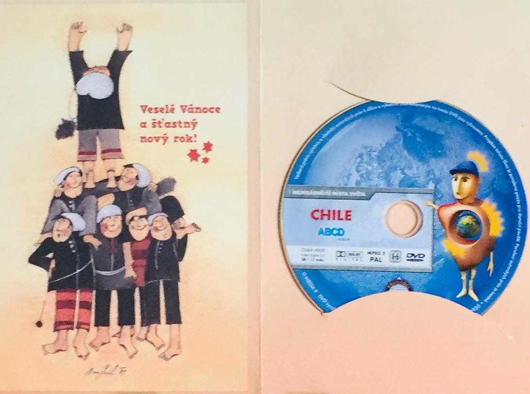 Nejkrásnější místa světa - Chile - DVD /dárkový obal/