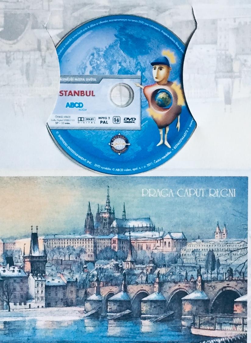 Nejkrásnější místa světa - Istanbul - DVD /dárkový obal/