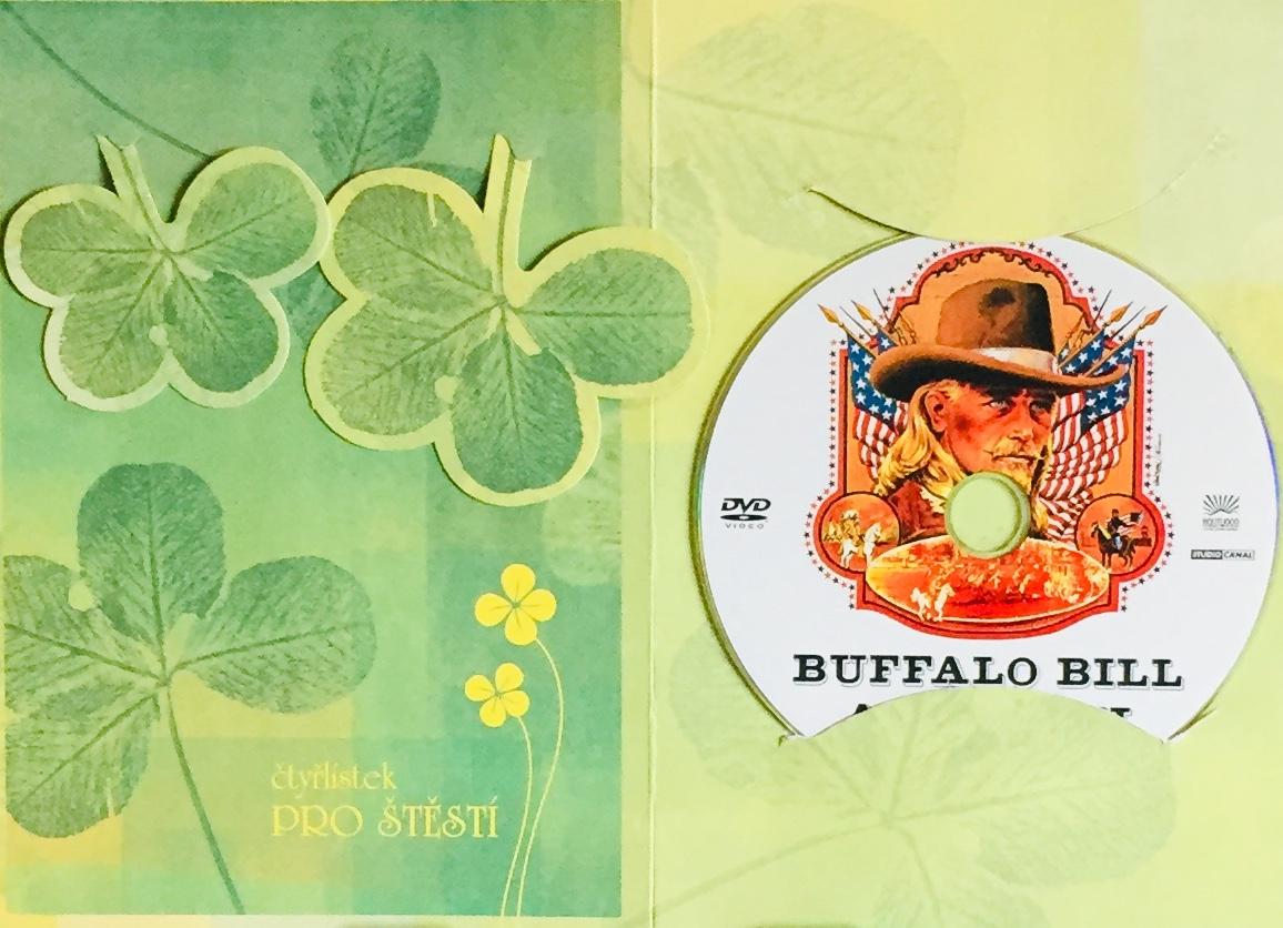 Bufallo Bill a Indiáni - DVD /dárkový obal/