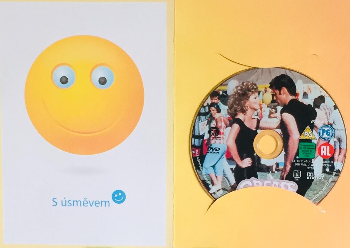 Grease / Pomáda - DVD /dárkový obal/